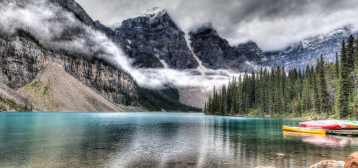 Moraine Lake - Cheap Flight Deals