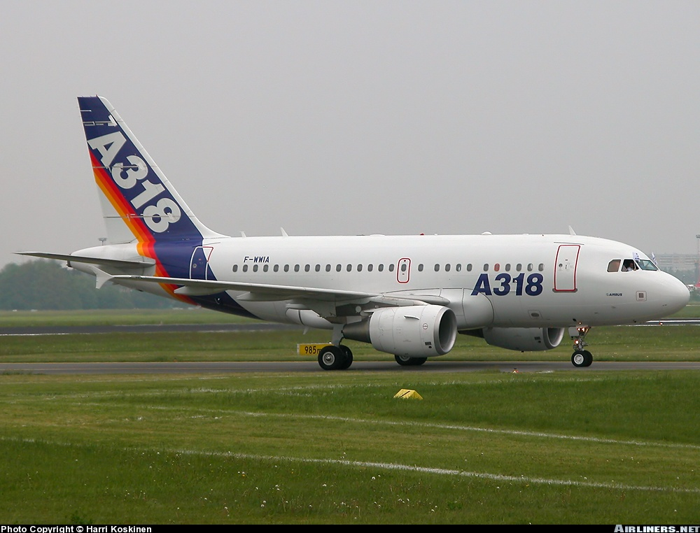 Airbus A318 - Book and Compare Flights